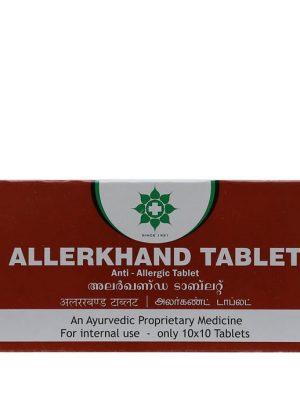 Allerkhand tabletės, 100 tb.