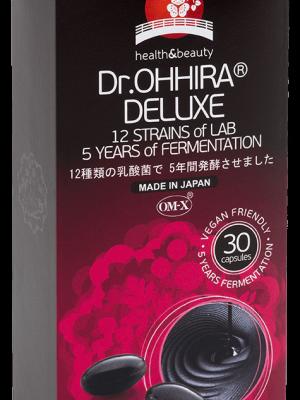 Dr.OHHIRA® DELUXE 12 rūšių gerųjų bakterijų kompleksas N30